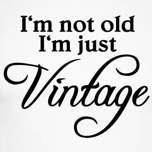 I'm not old, I'm just vintage Tee shirts manches longues - T-shirt baseball manches longues Homme