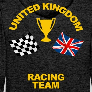 United Kingdom racing team Hoodies & Sweatshirts - Men's Premium Hoodie