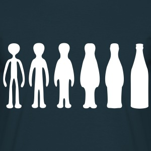 Bottles Evolution  T-Shirts - Men's T-Shirt