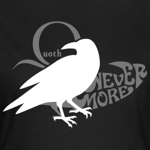 Der Rabe - the raven - poe - poetry T-Shirts - Frauen T-Shirt