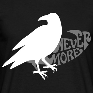 Der Rabe - the raven - poe - poetry T-Shirts - Männer T-Shirt
