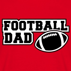 FOOTBALL DAD SIGN 2C T-Shirt BR