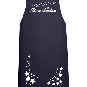 Starry Night. Party Outfit stars and hearts.  Aprons - Cooking Apron
