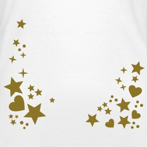 Stars Hearts Star Heart Starry Night Heaven Shirts - Women's T-Shirt