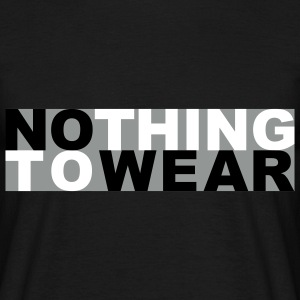 Nothing to wear T-shirts - T-shirt herr