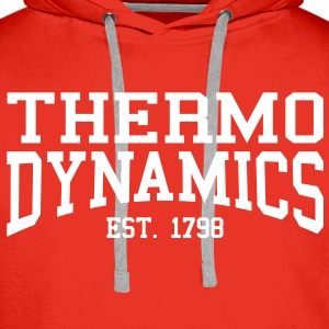 Thermodynamics - Est. 1798 (Over-Under) Hoodies & Sweatshirts - Men's Premium Hoodie