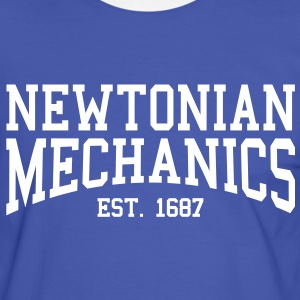 Newtonian Mechanics - Est. 1687 (Over-Under) T-Shirts - Men's Ringer Shirt