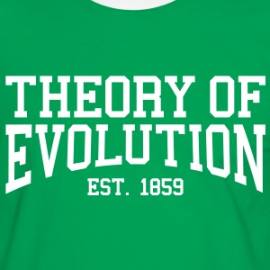 Theory of Evolution - Est. 1859 (Over-Under) T-Shirts - Men's Ringer Shirt