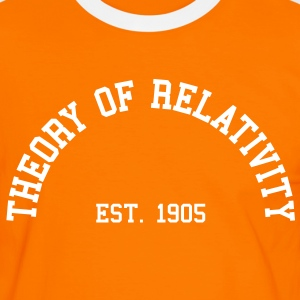 Theory of Relativity - Est. 1905 (Half-Circle) T-Shirts - Men's Ringer Shirt