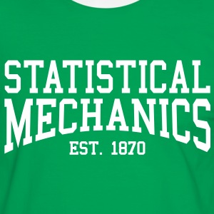 Statistical Mechanics - Est. 1870 (Over-Under) T-Shirts - Men's Ringer Shirt