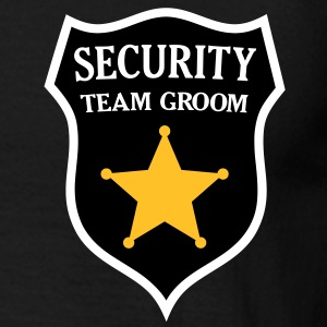 Security Team Groom T-Shirts - Men's T-Shirt