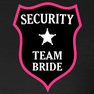 Security Team Bride. * Hen stag night out crew Camisetas - Camiseta mujer