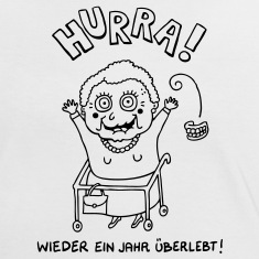 hurra_oma_sw T-Shirts