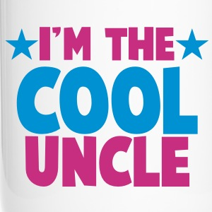 I'm the COOL uncle! with stars Bottles & Mugs - Travel Mug