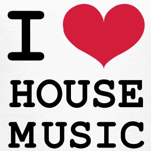 I Love House Music ! T-Shirts - Frauen T-Shirt