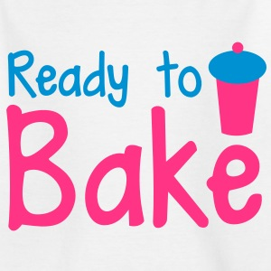 ready to bake with a tall cupcake! Shirts - Kids' T-Shirt