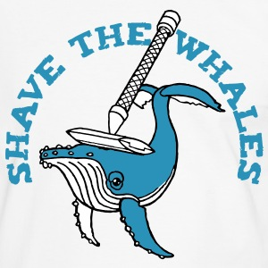 Shave the Whales T-Shirts - Men's Ringer Shirt