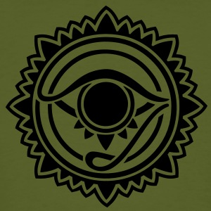 Horus eye, Egypt, protection, magic & strength, T-shirts - Men's Organic T-shirt