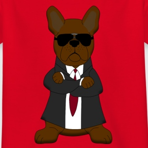Bodyguard French Bulldog T-shirts - T-shirt barn