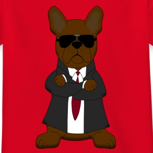 Bodyguard French Bulldog Shirts - Kinderen T-shirt