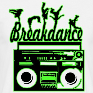 breakdance T-Shirts - Männer T-Shirt