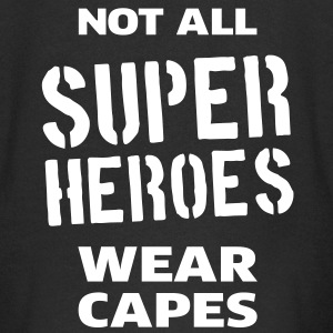 Not All Super Heroes Wear Capes Pullover & Hoodies - Kinder Premium Kapuzenjacke