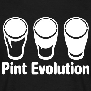 Pint Evolution - Shirt - Men's T-Shirt