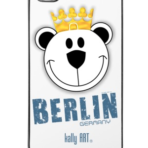 Berlin germany art bär jeans für iPhone© by kal - iPhone 4/4s Hard Case