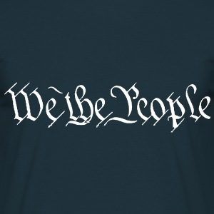 We The People T-Shirt - Männer T-Shirt