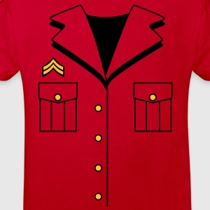 Military Dress T-Shirts - Kids' Organic T-shirt