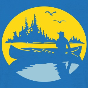 Canoe Kayak Canada Fishing Outdoor 4 tshirt  T-Shirts - Men's T-Shirt
