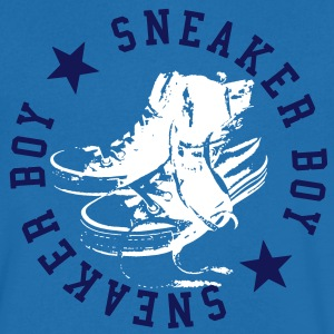 Sneaker Boy T-Shirts - Men's V-Neck T-Shirt