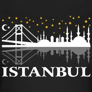 Istanbul at night. Bei Nacht. Damen T-Shirts   - Frauen T-Shirt