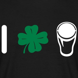 I Love Pint - Clover  T-Shirts - Men's T-Shirt