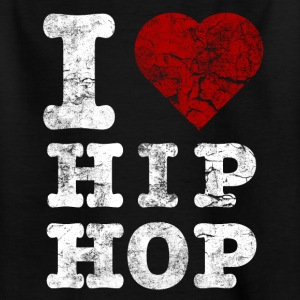 i_love_hiphop02_vintage_hell Shirts - Teenage T-shirt