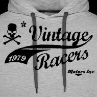 Motif ~ Motorcycles Hoodie Grey