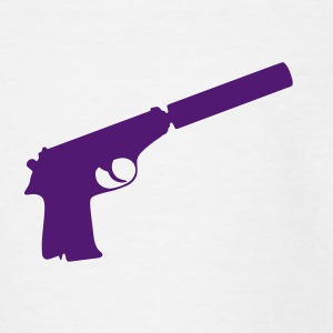Hand Gun Shirts - Teenage T-shirt