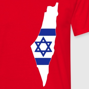 Red Israel Men's Tees - Men's T-Shirt