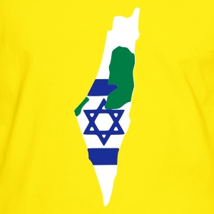 Yellow/green Israel - Palestine Men's Tees - Men's Ringer Shirt