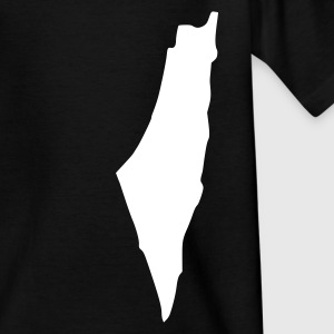 Schwarz Israel Kinder T-Shirts - Teenager T-Shirt