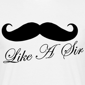 Like A Sir T-shirts - Herre-T-shirt