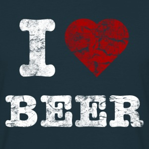 i_love_beer_vintage_hell T-shirts - T-shirt herr