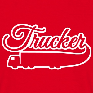 trucker T-shirts - Mannen T-shirt