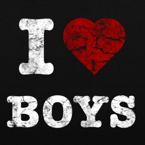 i_love_boys_vintage_hell Bags  - Tote Bag