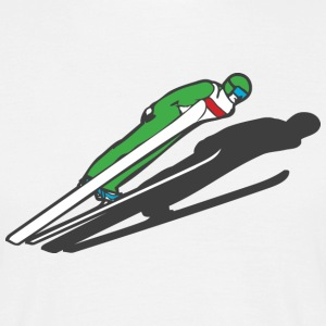 skihopper T-shirts - Herre-T-shirt