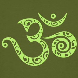 OM (AUM) - I AM - Symbol of spiritual strength T-shirts - Ekologisk T-shirt herr