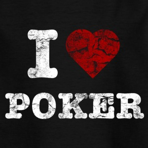 i_love_poker_vintage_hell T-shirts - Børne-T-shirt