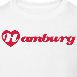 I love Hamburg T-Shirts - Kinder Bio-T-Shirt