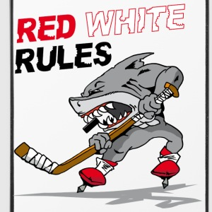 Red White Rules i Phone Case - iPhone 4/4s Hard Case