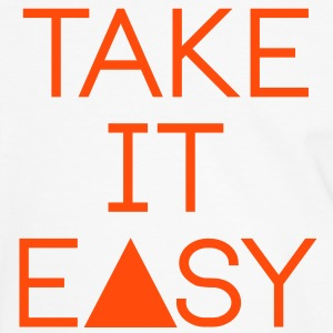 take it easy T-shirts - Mannen contrastshirt